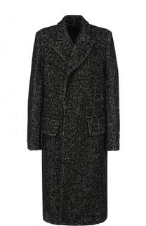 Удлиненное однобортное пальто Ann Demeulemeester
