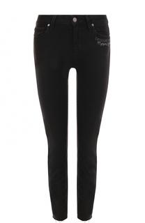 Укороченные джинсы-скинни Paige