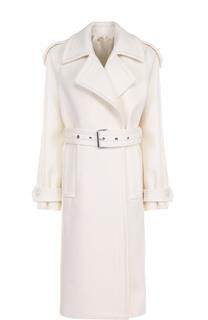 Шерстяное пальто с поясом Michael Kors