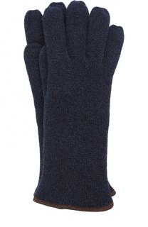Кашемировые вязаные перчатки Svevo