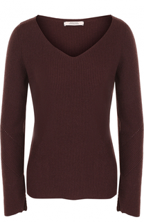Кашемировый пуловер с V-образным вырезом Dorothee Schumacher