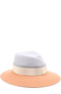 Фетровая шляпа Virginie с лентой Maison Michel