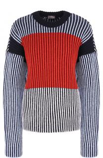 Пуловер свободного кроя с круглым вырезом MRZ