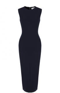 Шерстяное платье-футляр без рукавов Victoria Beckham