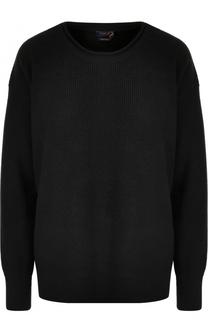 Шерстяной пуловер свободного кроя Polo Ralph Lauren