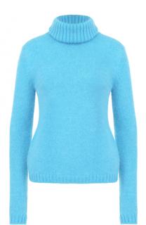 Вязаный свитер с разрезом на спине No. 21