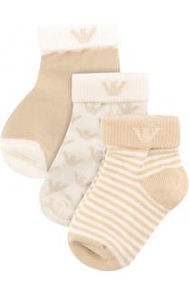 Комплект из трех пар носков Armani Junior