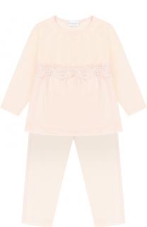 Пижама с кружевной отделкой La Perla