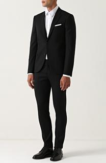 Шерстяной костюм с пиджаком на двух пуговицах Neil Barrett