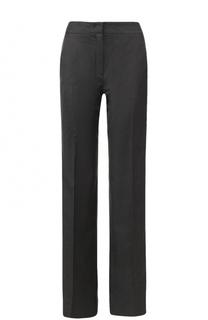 Шерстяные расклешенные брюки с  лампасами No. 21