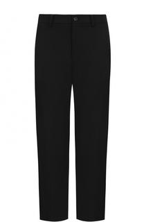 Укороченные брюки прямого кроя Yohji Yamamoto