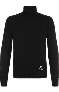 Кашемировый свитер с высоким воротником Saint Laurent