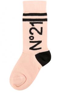 Носки с принтом No. 21