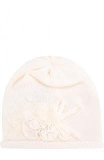 Шерстяная шапка с декором Aletta