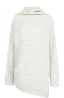 Шерстяной свитер свободного кроя Yohji Yamamoto