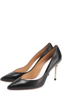 Кожаные туфли на шпильке Maison Margiela