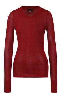 Облегающий пуловер с круглым вырезом Isabel Marant
