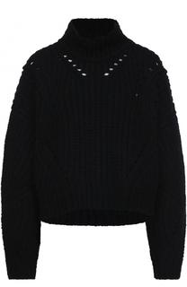 Шерстяной свитер фактурной вязки Isabel Marant