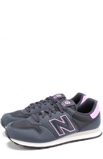 Комбинированные кроссовки 500 на шнуровке New Balance