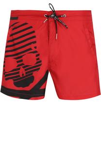 Плавки-шорты с принтом Philipp Plein