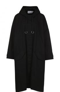 Пальто свободного кроя с капюшоном T by Alexander Wang