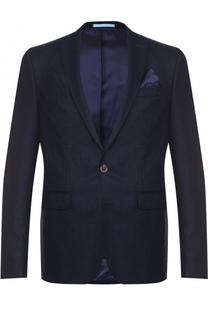 Шерстяной однобортный пиджак Sand