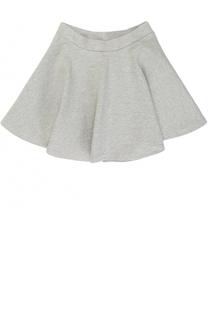 Хлопковая мини-юбка свободного кроя Polo Ralph Lauren