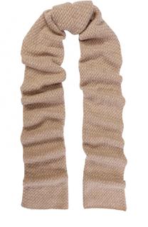 Кашемировый шарф с отделкой из кристаллов Swarovski William Sharp