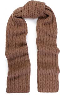 Кашемировый шарф фактурной вязки William Sharp