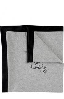 Одеяло с контрастной отделкой и вышивкой Aletta