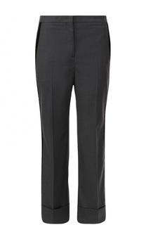 Укороченные расклешенные брюки со стрелками No. 21