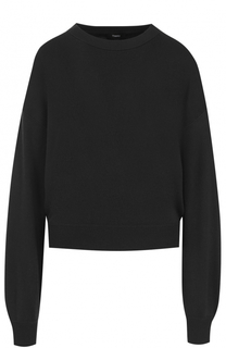 Вязаный шелковый пуловер Theory