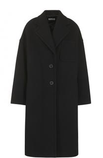 Шерстяное пальто свободного кроя Dries Van Noten