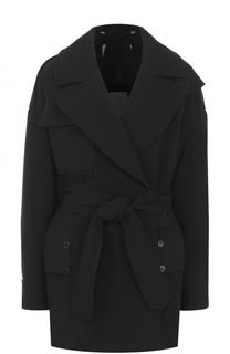 Укороченное пальто с поясом By Malene Birger