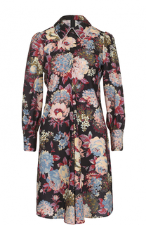 Мини-платье с цветочным принтом Tara Jarmon