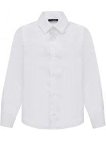 Хлопковая рубашка в мелкую полоску Dal Lago