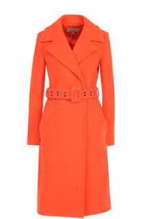Шерстяное пальто с карманами и поясом Emilio Pucci