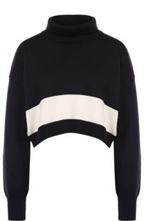 Укороченный шерстяной свитер Erika Cavallini