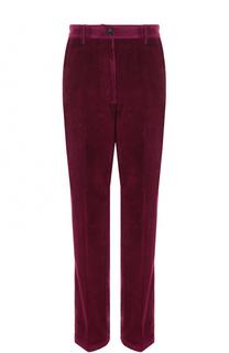 Вельветовые брюки прямого кроя Dries Van Noten