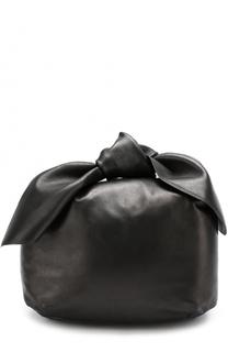 Кожаная сумка с бантом Simone Rocha