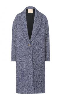Пальто свободного кроя с карманами Erika Cavallini