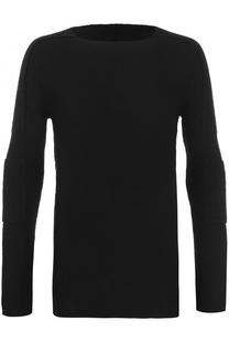 Вязаный пуловер с круглым вырезом Masnada