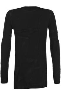 Однотонный пуловер с круглым вырезом Masnada