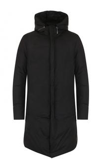 Пуховое пальто с капюшоном Masnada