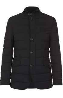 Пуховая стеганая куртка на пуговицах Montecore