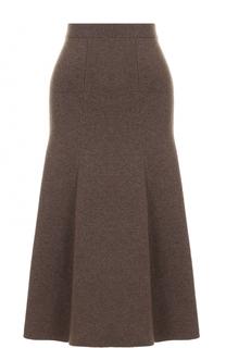 Шерстяная юбка-миди Joseph