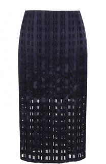 Юбка-карандаш с перфорацией Diane Von Furstenberg