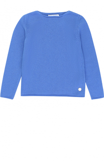 Кашемировый пуловер прямого кроя Simonetta