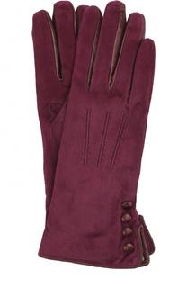 Замшевые перчатки с кашемировой подкладкой Sermoneta Gloves