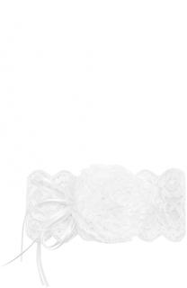 Кружевная повязка на голову с декором Aletta